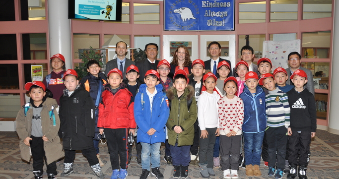 Chinese Winter Camp visitors