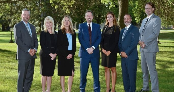 Members of the Walled Lake Schools Central Administration team