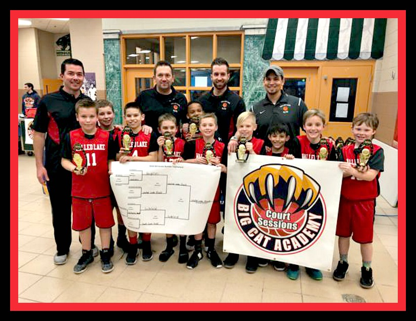 2018 Big Cat League Champions - 4th Grade ELITE Team