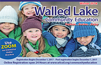 Community Education Center - Winter Brochure Programs 2017-2018