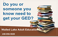 Walled Lake Schools Adult Education Programs
