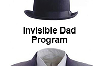 Invisible Dad Program Logo and Text