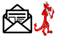 Newsletter Icon and Keith Red Dragon School Logo linking to Keith Newsletters