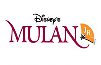 "Sarah Banks Middle School's presentation of ""Mulan Junior"" logo"