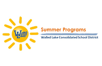 Walled Lake Summer Programs Sun Logo