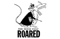 "WL Central's production of ""The Mouse That Roared"" logo"