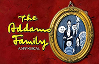 WLN's production of The Addam Family logo