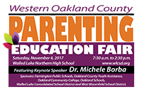 Western Oakland County Parenting Education Fair 2017 Logo
