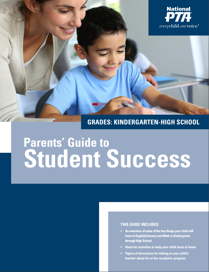 Parents Guide to Student Success cover page