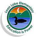 Loon Lake Elementary logo