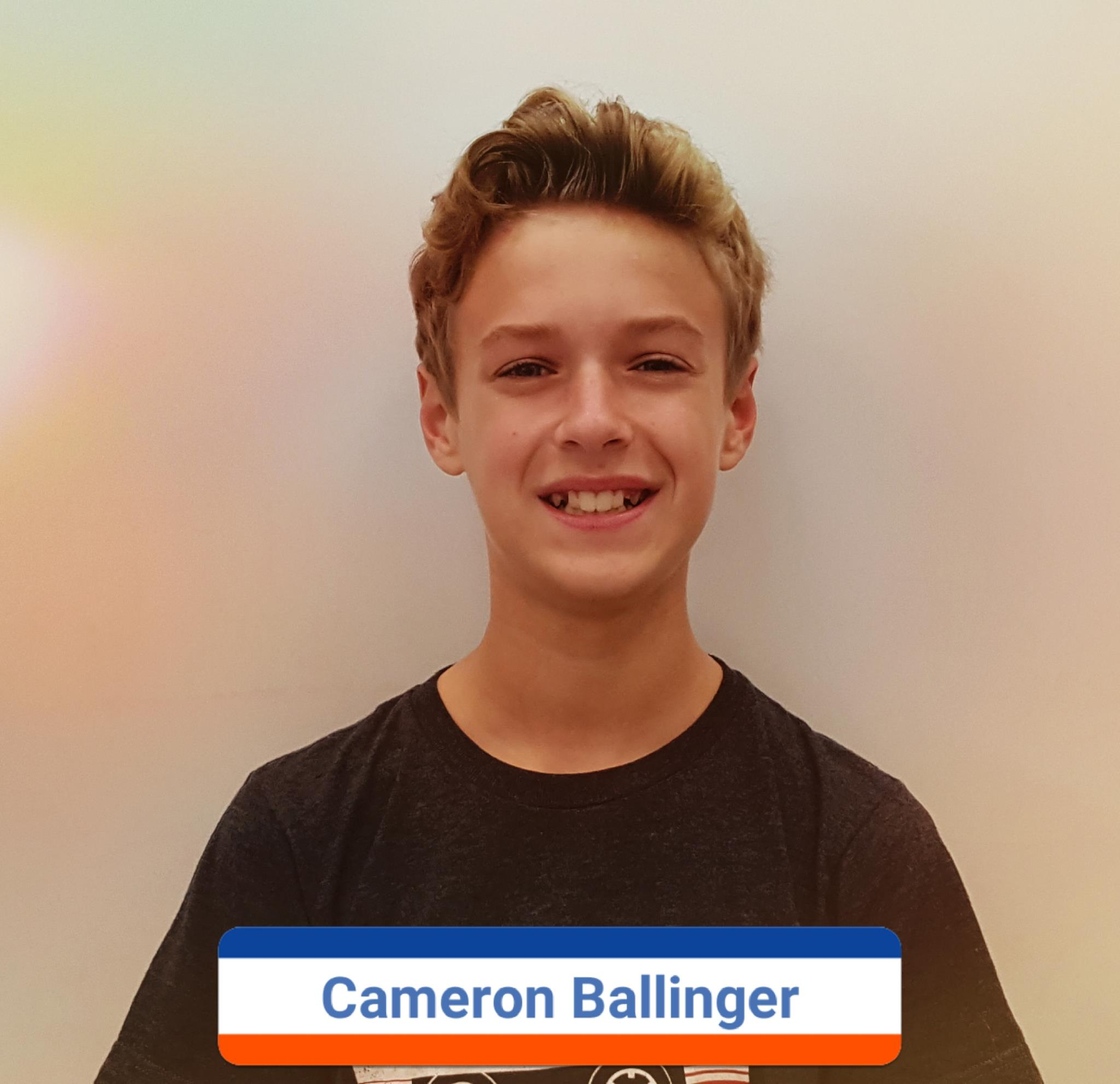 Cameron Ballinger photo